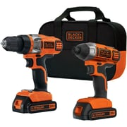 Black & Decker 20-volt Drill/impact Combo Kit