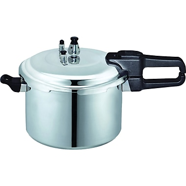 Brentwood 9.0 Liter Pressure Cooker In Aluminum