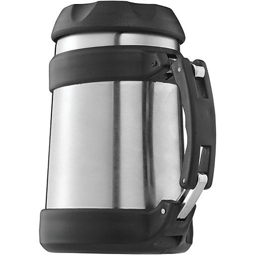Brentwood 0.5 Liter Vacuum Double Wall Food Jar, Stainless Steel
