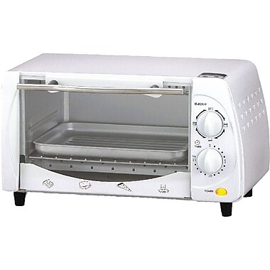 Brentwood 4 Slice Toaster Oven, White (BTWTS345W)