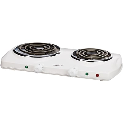 Brentwood Electric Double Burner (white)