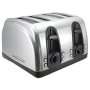 Brentwood 4 Slice Elegant Toaster With Brushed Stainless Steel Finish (BTWTS445S)
