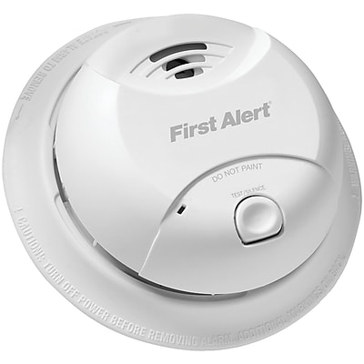First Alert 10-year Sealed-battery Ionization Smoke Alarm