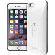"""iLuv iPhone 6 Plus 5.5"""" Selfy Dual Layer Case With Bluetooth Remote Shutter (white)"""