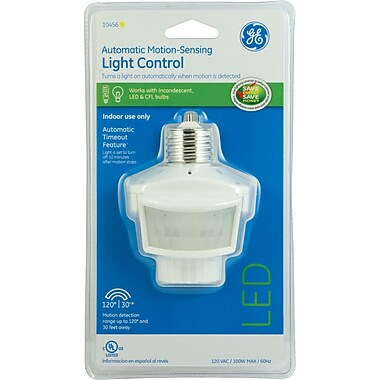 GE Indoor 120 degree Motion-sensing Light Control