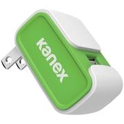 Kanex 2.4A V2 USB Wall Charger, Green (KANCU24V2GN)