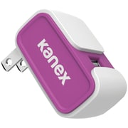 Kanex 2.4A V2 USB Wall Charger, Purple (KANCU24V2PR)
