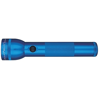 Maglite 27 Lumen Flashlight, Blue (MGLS2D116)