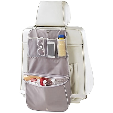 Neatfreak Seat-back Organizer With 8 Pockets & Bonus Pop Up Litter Bag