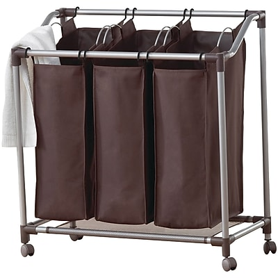 Neatfreak Deluxe Triple Laundry Sorter With Everfresh