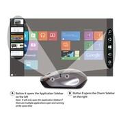 Verbatim® USB 2.0 Wireless Notebook Blue LED Mouse, Rose