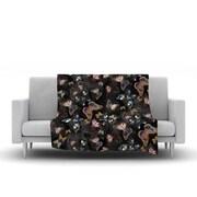KESS InHouse Galactic Butterfly by Nikki Strange Fleece Throw Blanket; 60'' H x 50'' W x 1'' D