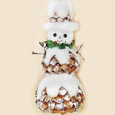Worth Imports Snowman w/ Pinecones