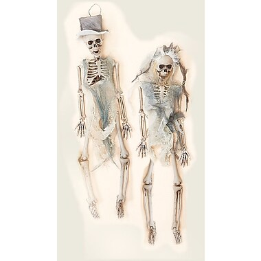 Worth Imports Skeleton Bride and Groom