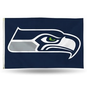 Rico Industries NFL Banner Flag; Seattle Seahawks