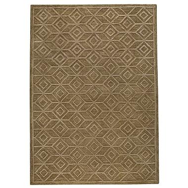Hokku Designs Shavonne Brown Ikat Area Rug; 5' x 8'
