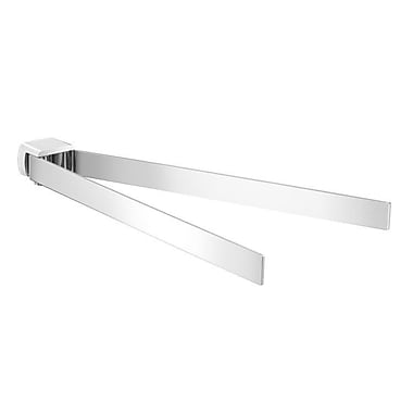 Gedy by Nameeks Pirenei Double Wall Mounted Towel Bar