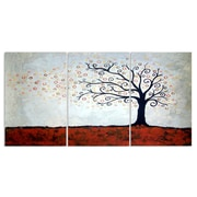 Stupell Industries Tree in Autumn Triptych 3 Piece Graphic Art Wall Plaque Set