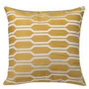 Westex Urban Loft Hexagon Throw Pillow; Yellow