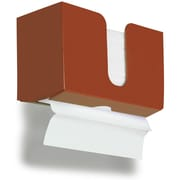 TrippNT Paper Dual Towel Holder; Georgia Clay Red Brown