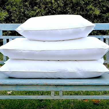 Allied Home Deluxe 100pct Down Pillow; 20'' L x 26'' W
