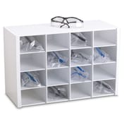 TrippNT 16 Compartment Safety Glasses Holder