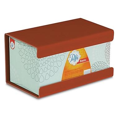 TrippNT Kleenex Large Box Holder; Georgia Clay Red Brown