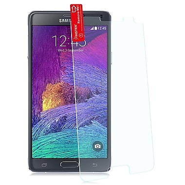 Insten® Tempered Glass LCD Screen Protector Film Cover for Samsung Galaxy Note 4, Clear (1981298)