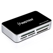 Insten® 1936359 USB 3.0 All-in-1 Multi Memory Card Reader for SD/SDHC/Micro SD/Compact Flash/MS/MS Pro/XD