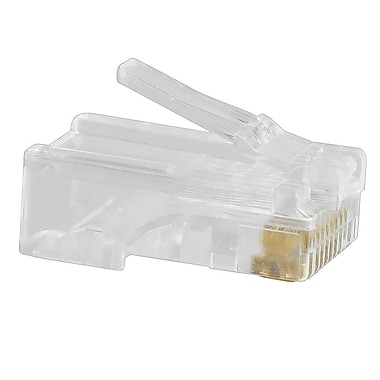 Insten® RJ45 Network Cable Modular Plug CAT6 8P8C Network Adapter 100 Pieces (1934192)