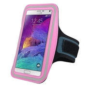 Insten® Handsfree Sports Armband Case for Apple iPhone 6/6S Plus, Samsung Galaxy Note 3 and 4 Pink (2037118)