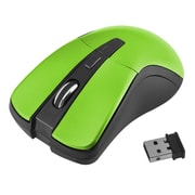 Insten® 1991141 2.4G Cordless 4-Button Wireless Optical Mouse for Computer Laptop Desktop PC, Green