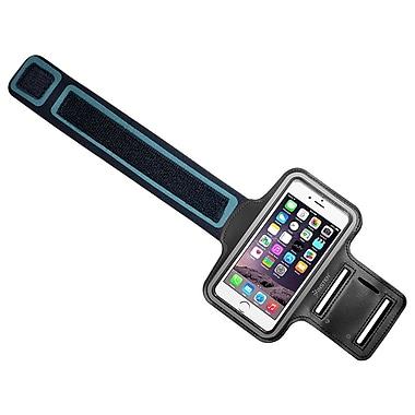 Insten - Brassard sport mains libres pour iPhone 6/6s d'Apple, Galaxy Note S6 et S6 Edge de Samsung, noir (2037126)