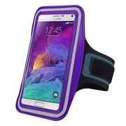 Insten® Handsfree Sports Armband Case for Apple iPhone 6/6S Plus, Samsung Galaxy Note 3 and 4 Purple (2037119)