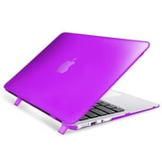 "Insten® Hard Rubber Coated Case for Apple Macbook Air 11"" Purple (1994504)"