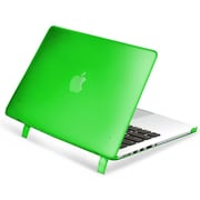 "Insten® Hard Rubber Case for Apple Macbook Pro with Retina Display 15"", Green (1991125)"