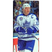 """Sundin M. Unsigned HHOF Canvas, Leafs Close-Up -V, 14"""" x 28"""""""