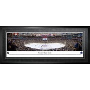 """Toronto Maple Leafs Framed, Panorama Arena, 21"""" x 48"""""""