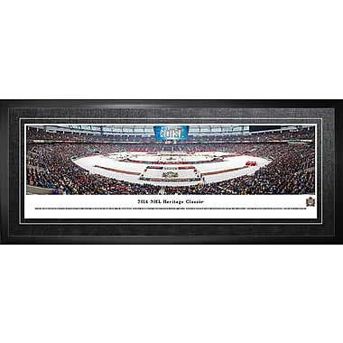 Vancouver Canucks Framed, Panorama 2014 Heritage Classic, 21