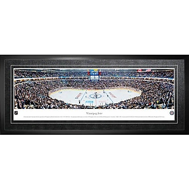 Winnipeg Jets Framed, Panorama Arena, 21