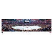"Montreal Canadiens Panorama Plaque, Arena, 21"" x 48"""