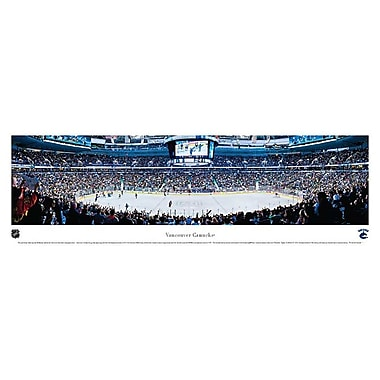 Vancouver Canucks Panorama Plaque, Arena, 21
