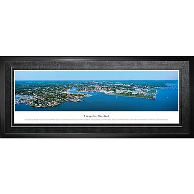 Annapolis, MD Framed, Panorama Day, 21
