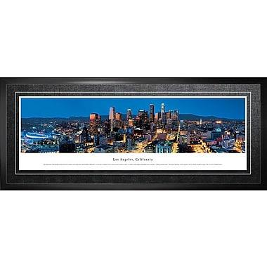 Los Angeles, CA Framed, Panorama Night, 21