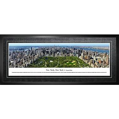 New York, NY Framed, Panorama Central Park, 21