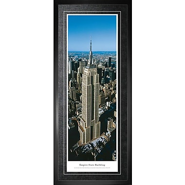 Empire State Building Framed, Panorama Day, 21