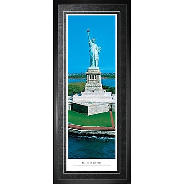 Statue Of Liberty Framed, Panorama Day, 21
