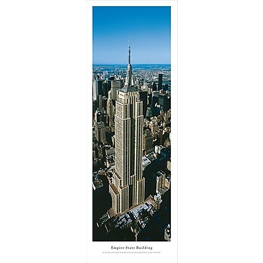 Empire State Building Panorama Plaque, Day, 13.5