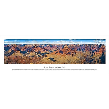 Panorama de jour du Grand Canyon de 13,5 x 40 po