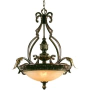 AF Lighting Provencal Three Light Pendant (45313H)